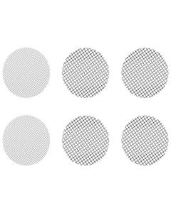 Zestaw MIX małych sitek składa się z 4 sitek gruboziarnistych i 4 sitek standardowych, które pasują do waporyzatorów Crafty, Mighty i adapterów kapsułek dozujących