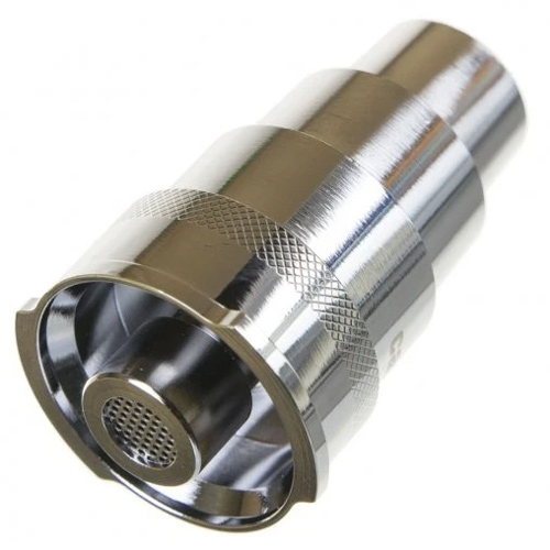 Podłącz swoją ulubioną fajkę wodną, bongo lub bubbler do swojego waporyzatora Boundless CFX za pomocą tego wodnego adaptera